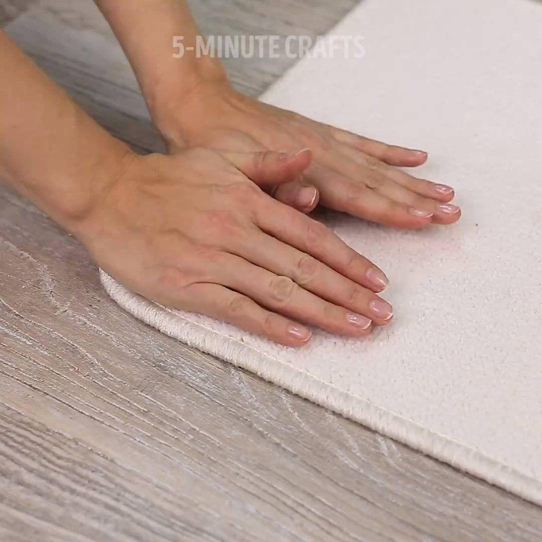Diy carpet holder alco holdegreaser velcro doublesided