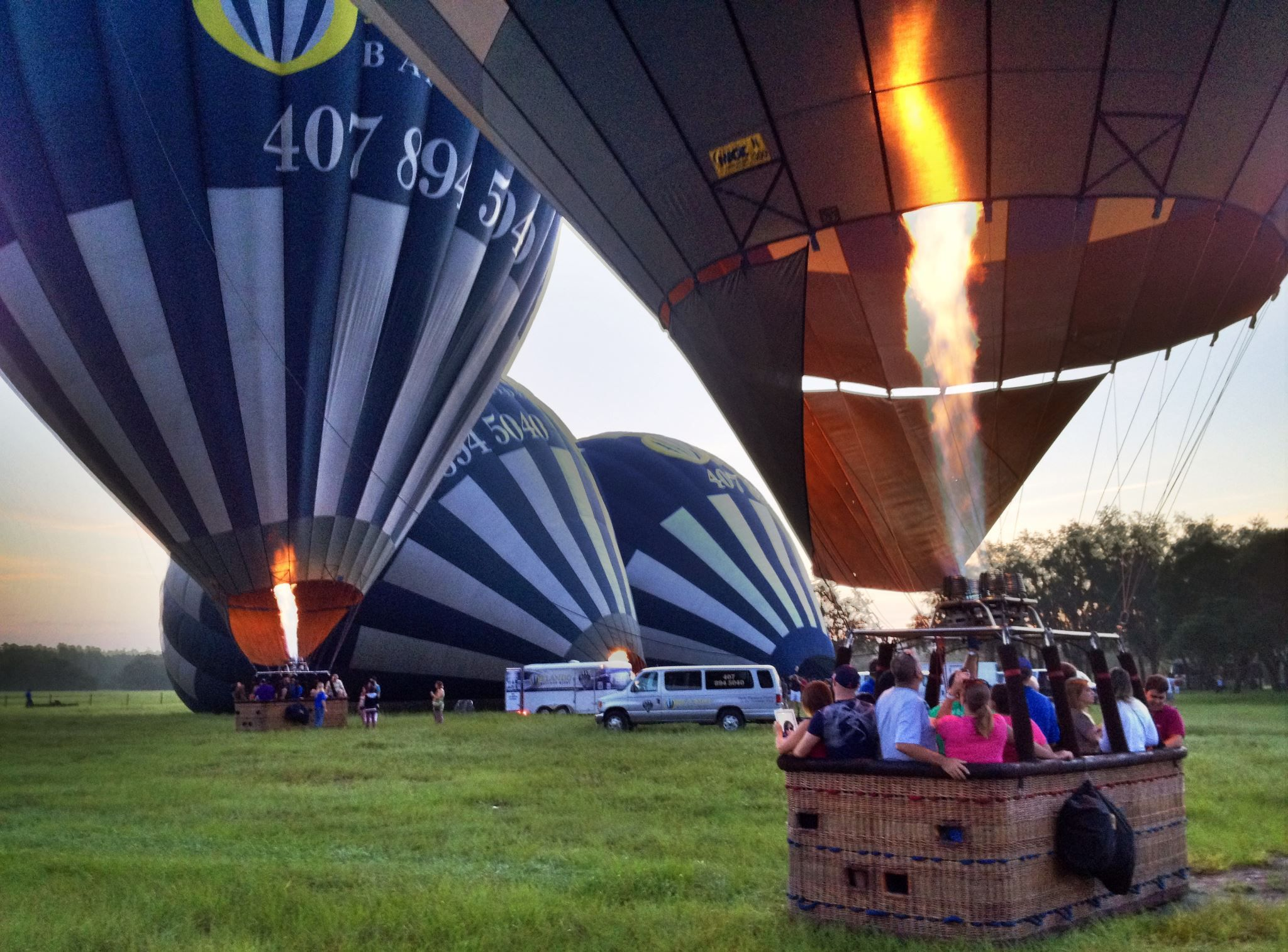 OBR taking off this find August Morning Balloon rides