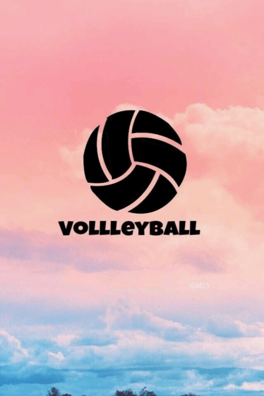 Volleyball Volleyball Tumblr In 2020 Volleyball Wallpaper Volleyball Backgrounds Volleyball Drawing