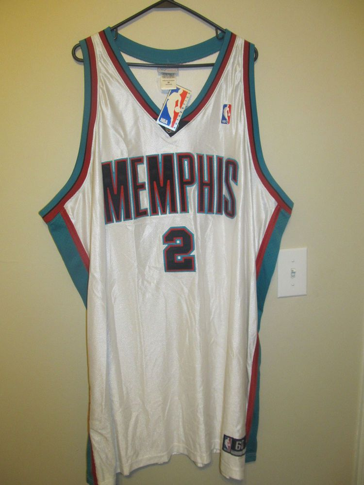 5bec3fe06 Jason Williams - Memphis Grizzlies Authentic Jersey - Rebook Adult 60 NWT   Reebok  MemphisGrizzlies