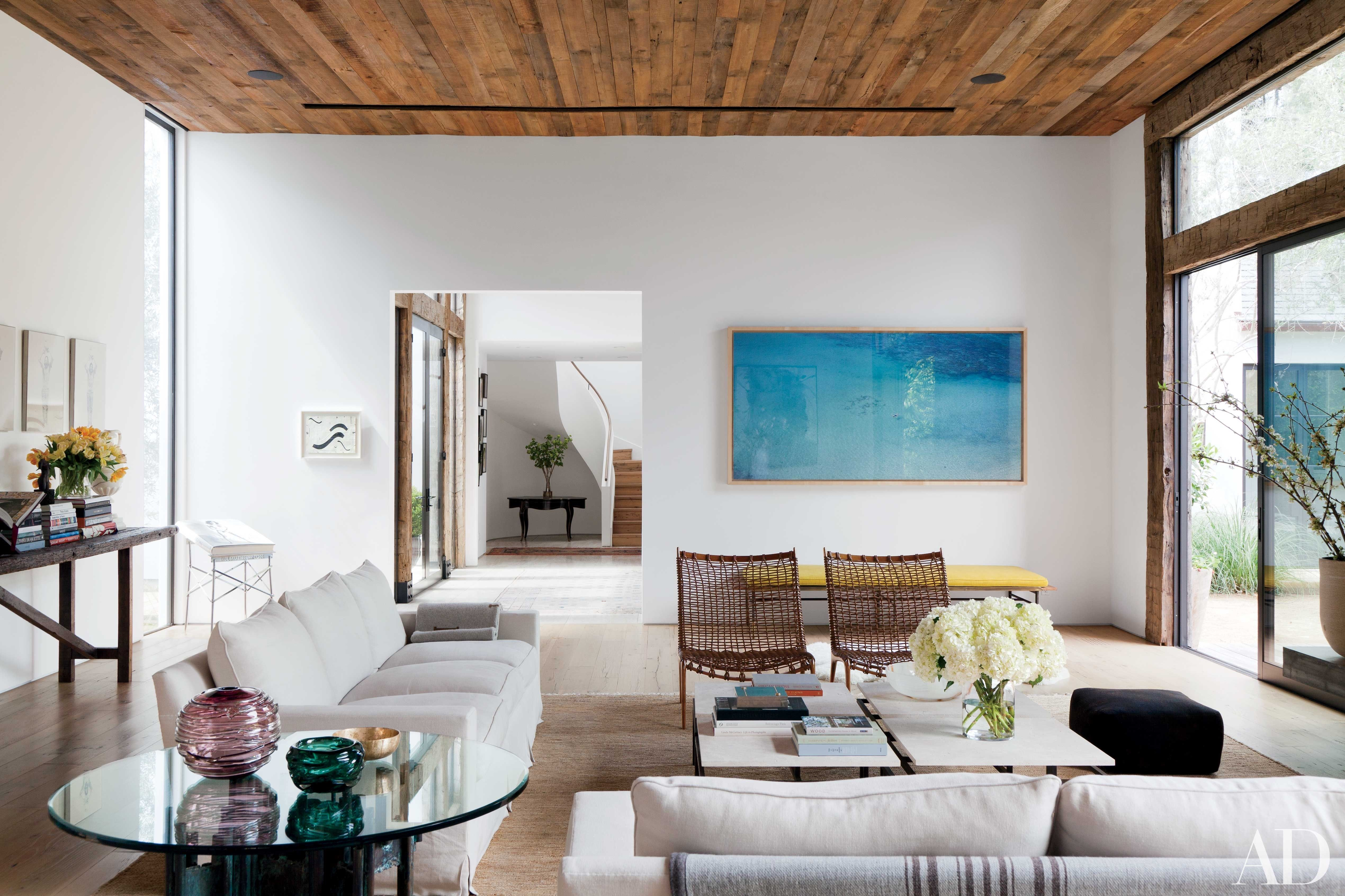 17 Fabulous Family-Friendly Living Rooms | Architectural digest ...