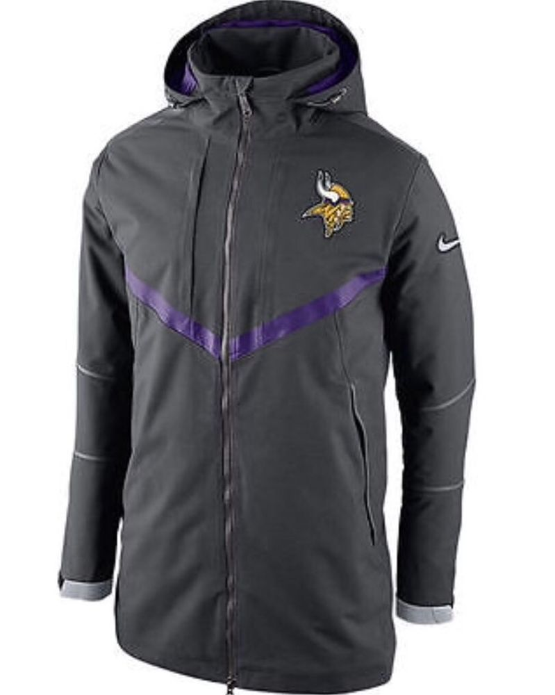 newest collection 0638f f0d4d Nike Minnesota Vikings Mens 550 Down Filled Parka Jacket M ...
