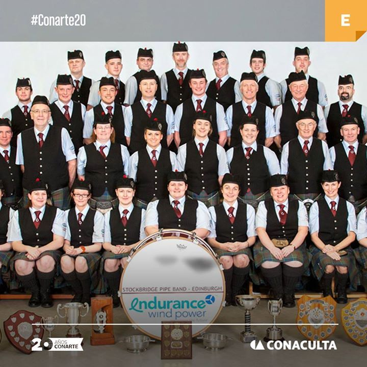 Una de las más relevantes tradiciones escocesas llega al Festival Internacional de Santa Lucía con la Stockbridge Pipe Band y su música de gaitas. Nos vemos mañana! Explanada Santa Lucía a las 20:45h. Entrada libre.  #CONARTE20 #FISL2015  Con apoyo de Conaculta