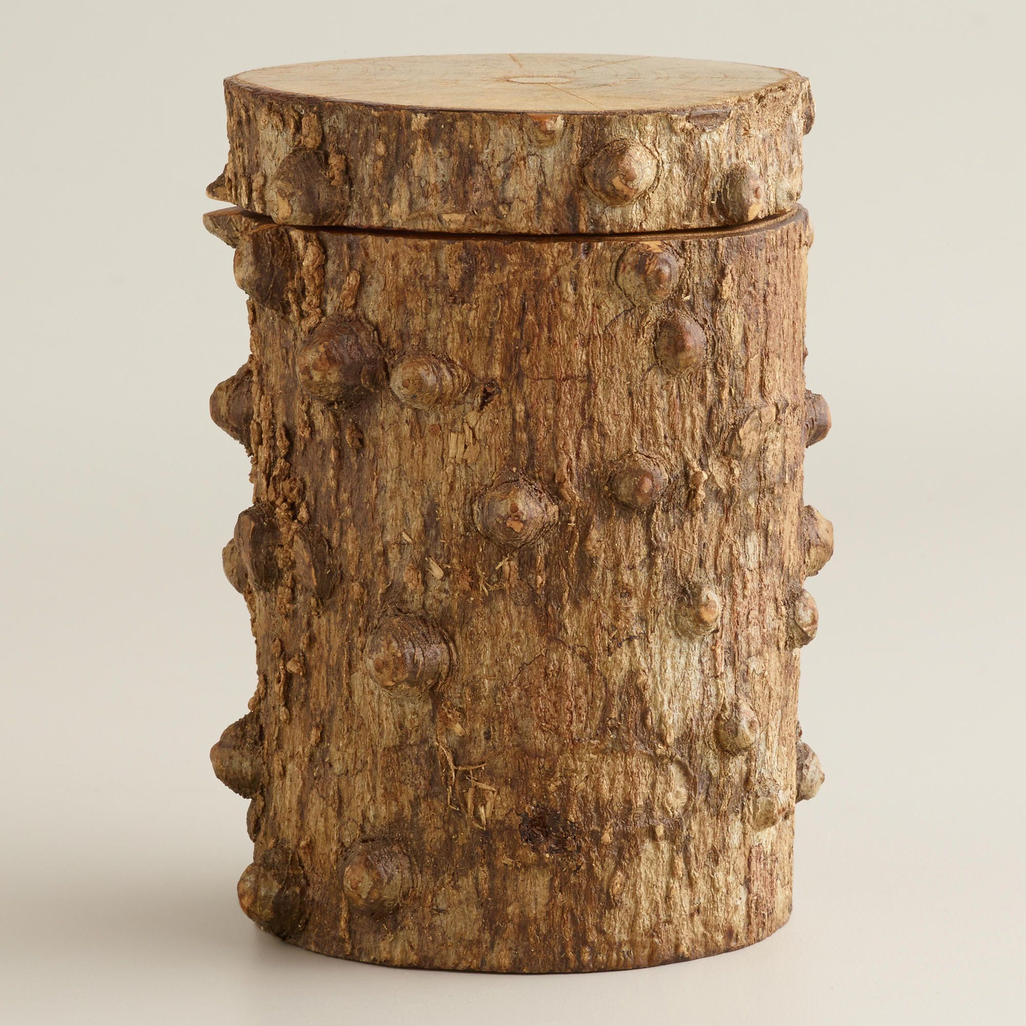 Mini Log Box - World Market