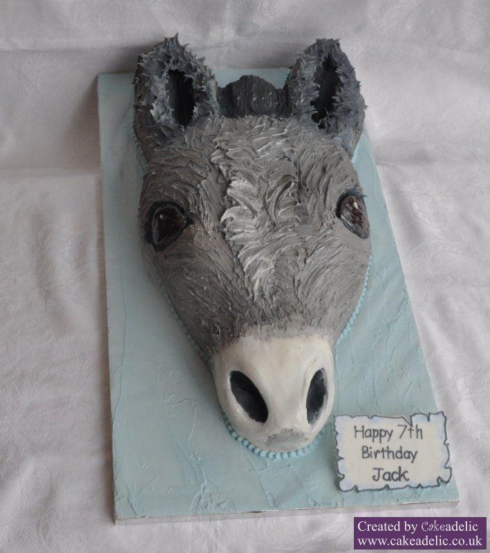 Donkey, Cake And Birthday