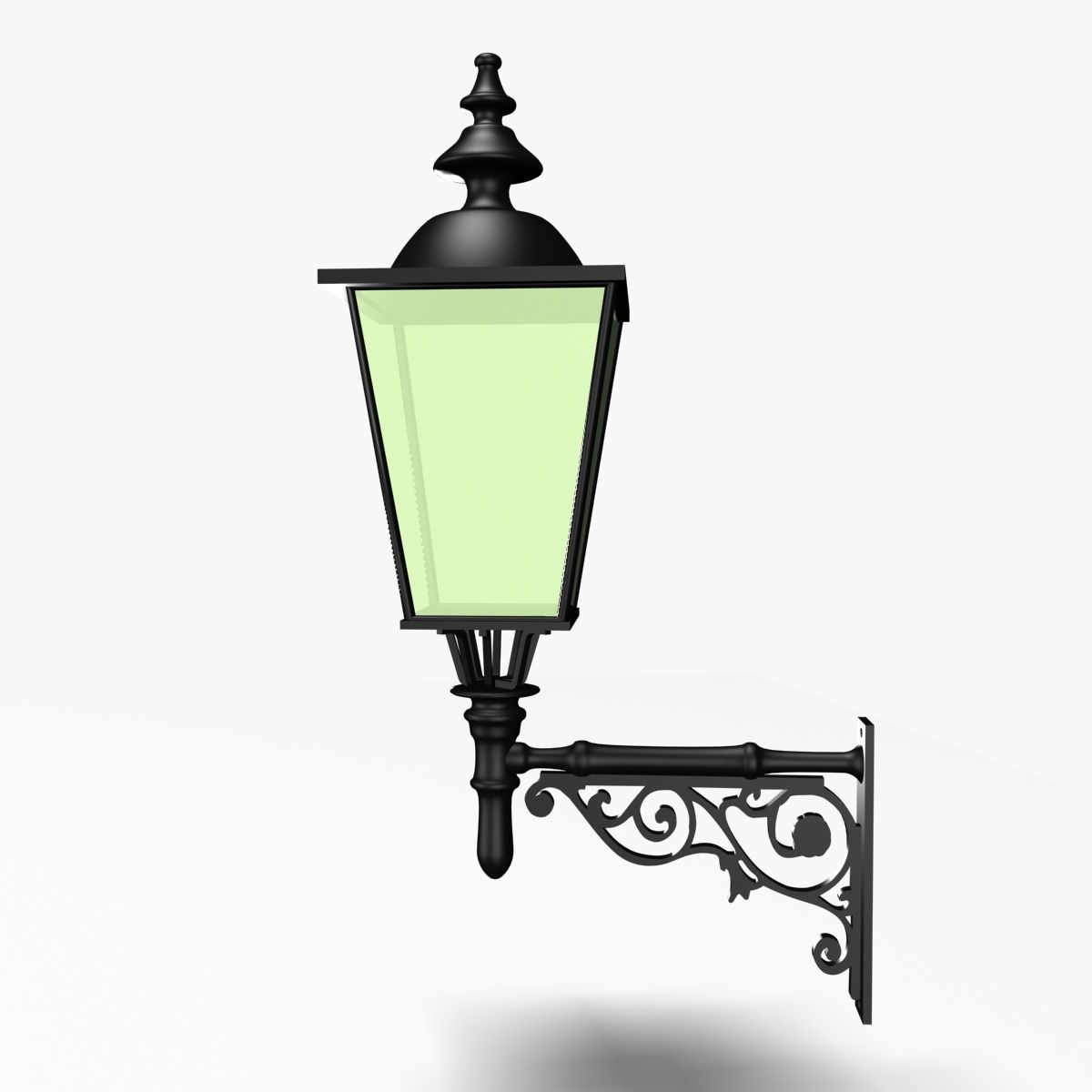 Garden Lamp 3d Model: Outdoor Light 01 #Outdoor, #Light