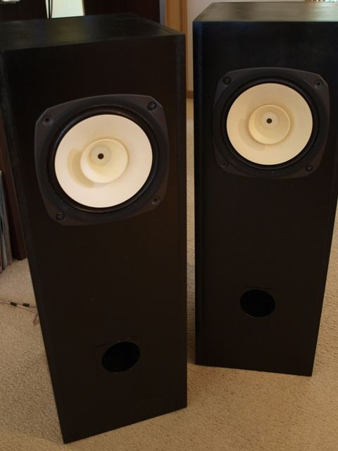 First pair Fostex FE206En Double Bass Reflex Speakers speakers - double first