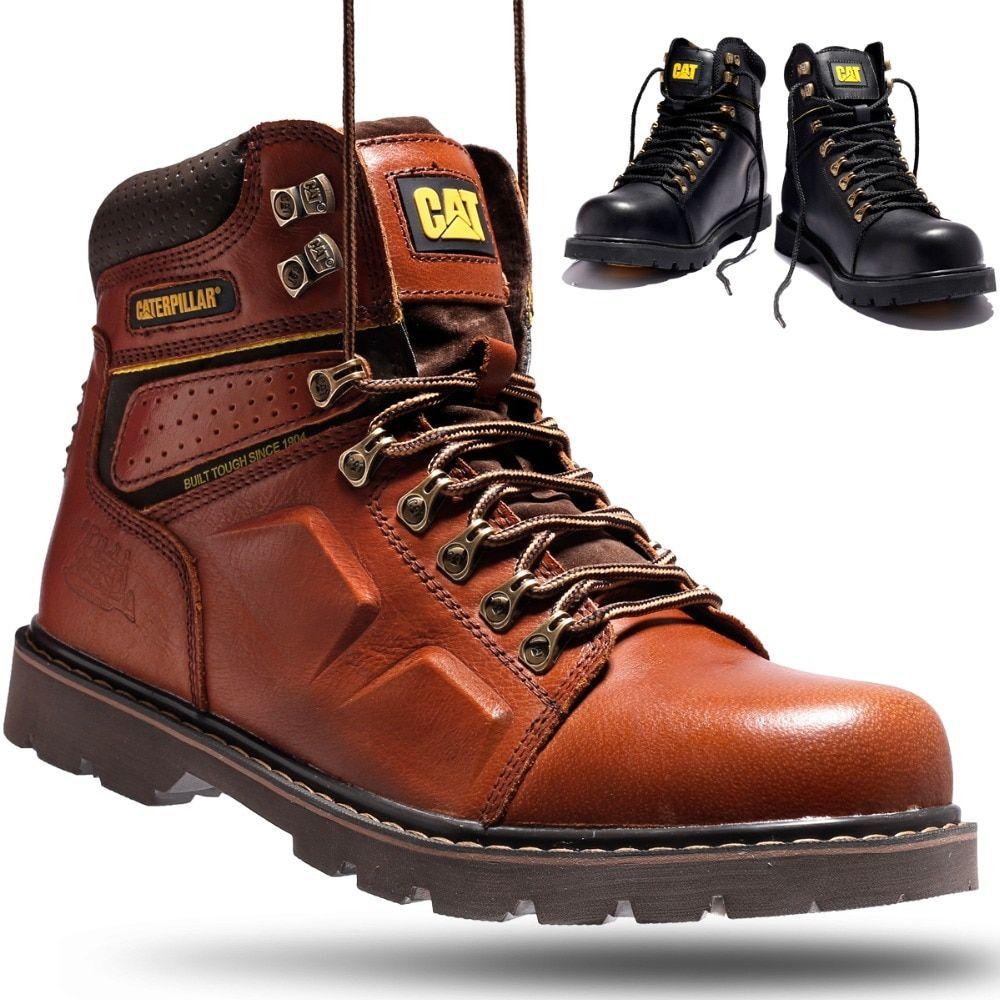 Best Sale Shop Buy Men S Martin Boots Cow Leather Work Shoes Winter Hiking Outdoor Climbing Rubber Bottom Non Slip Safe Working Boots For Man Ausdrucken Mann
