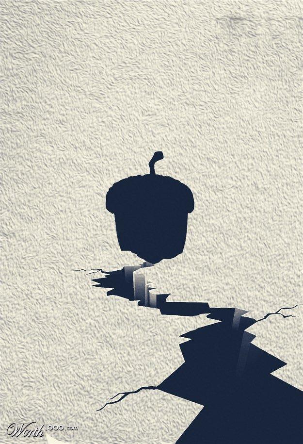 Ice Age minimal poster