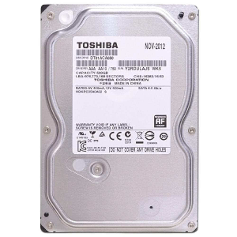 """Toshiba 500GB DT01ACA050 7200RPM 32MB SATA 3.5/"""" Desktop HDD Hard Drive"""