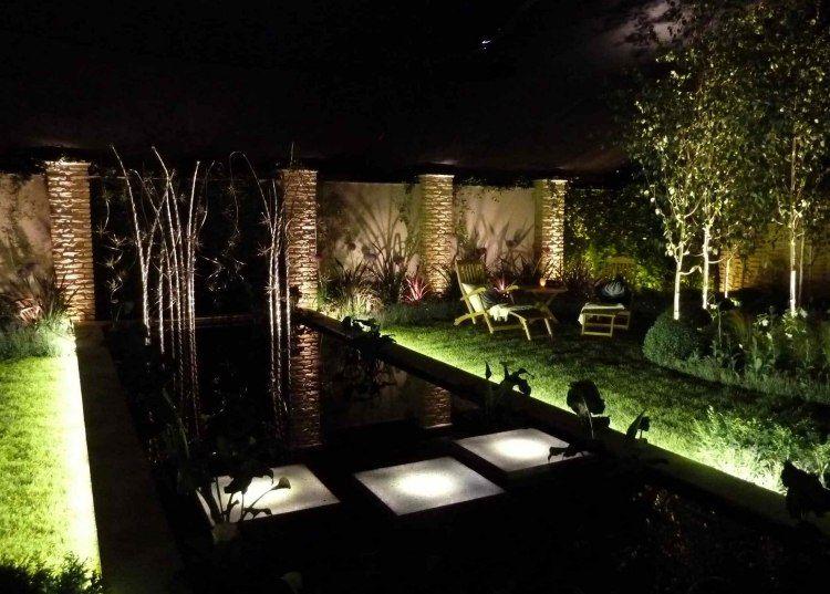 clairage ext rieur led en 50 id es de luminaire de jardin clairage ext rieur luminaire de. Black Bedroom Furniture Sets. Home Design Ideas