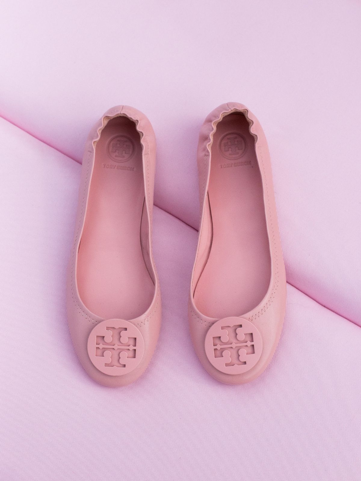 8de947592e7f2 Tory Burch Minnie Flats