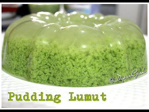 Resep Dan Cara Membuat Pudding Lumut Pandan Youtube Pudding Desserts Resep Makanan Enak