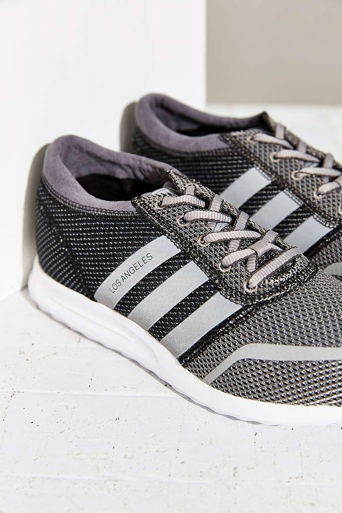 adidas Originals Los Angeles Reflective Stripe Running Sneaker - Urban  Outfitters