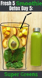 5Day Smoothie Detox Diet Plan 1 Delicious meal replacement smoothie recipe each day for weight loss increased energy glowing skin and vitality Get your FREE recipe book...