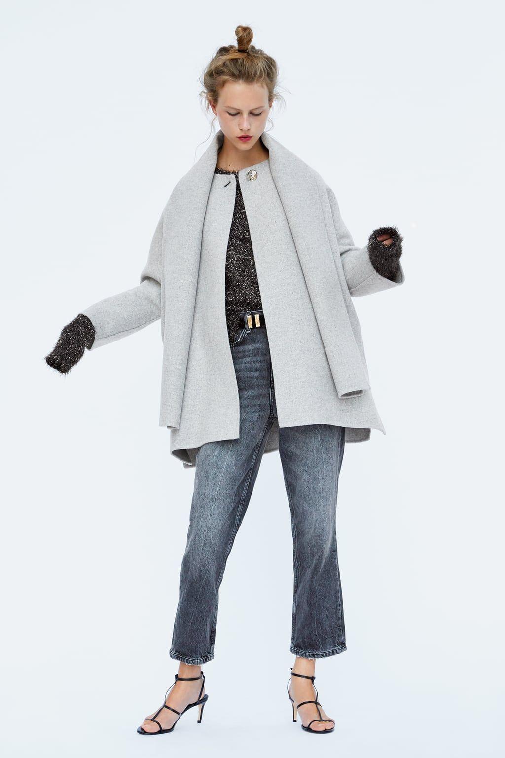 Bufanda Corto Coat Abrigo 2019 Blogger En Style Pinterest f7WqU5xR5w