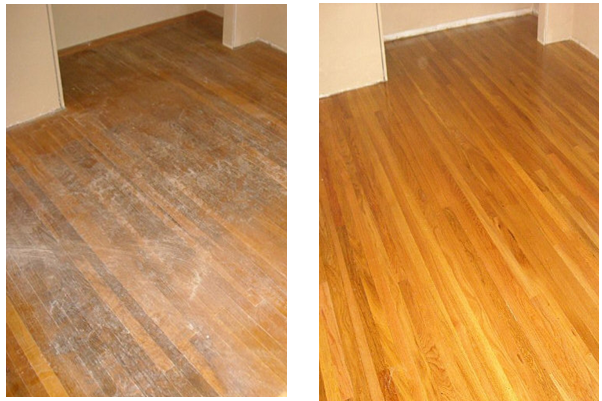 No Sanding No Dust No Mess No Odor System Cleaning