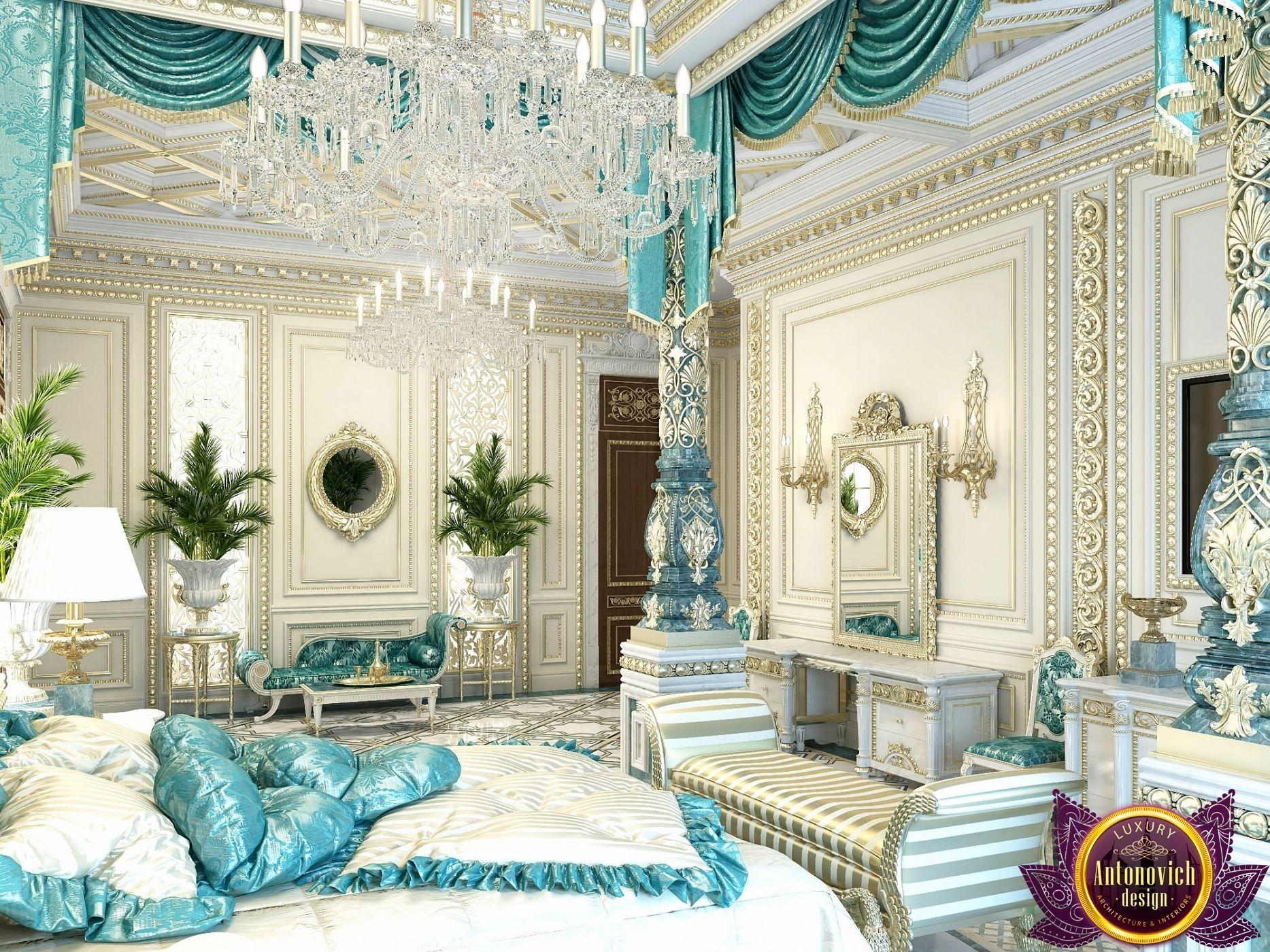 Bedroom Design In Dubai Luxury Royal Master Photo 6