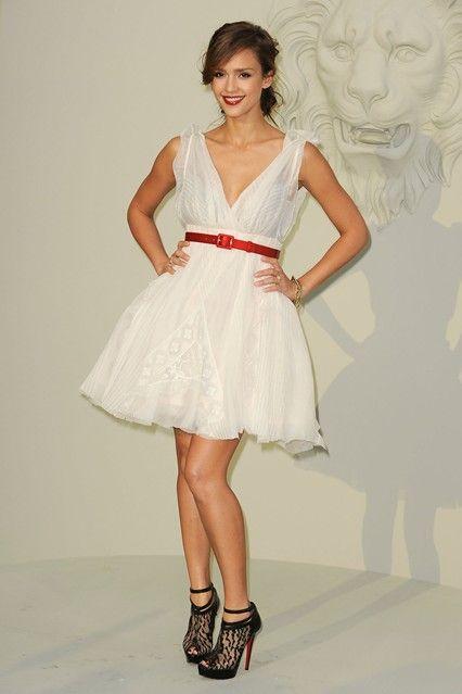 Jessica Alba at Chanel
