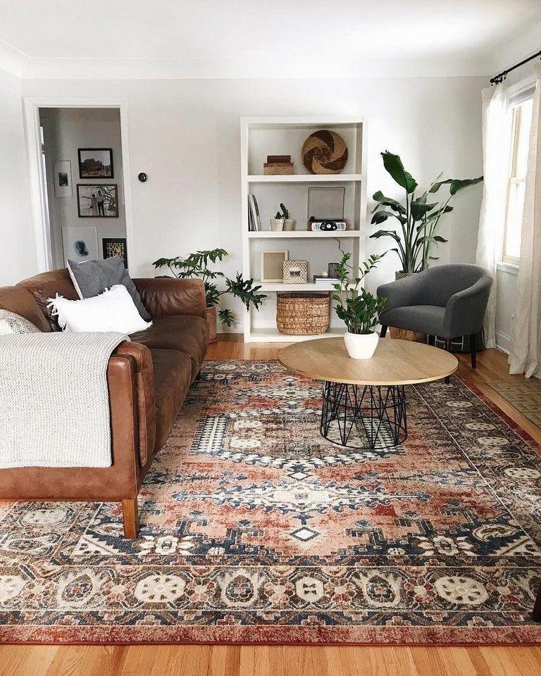 45 Stunning Family Living Room Design Ideas #familyroomdesign #livingroomdesignideas #livingroomdesigns #boholivingroom