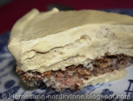 Kjernesunn Nordkvinne: Iskake med kaffesmak
