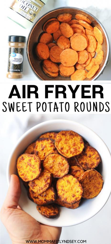 Air Fryer Sweet Potato Rounds Recipe in 2020 Sweet