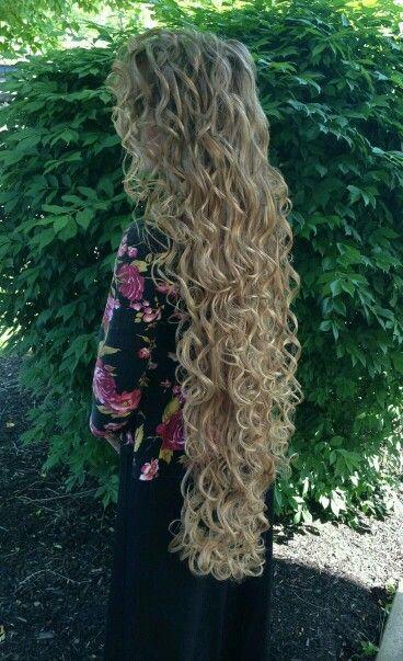 Very Long Hair Long Hair Styles Gorgeous Hair Curly Hair Styles