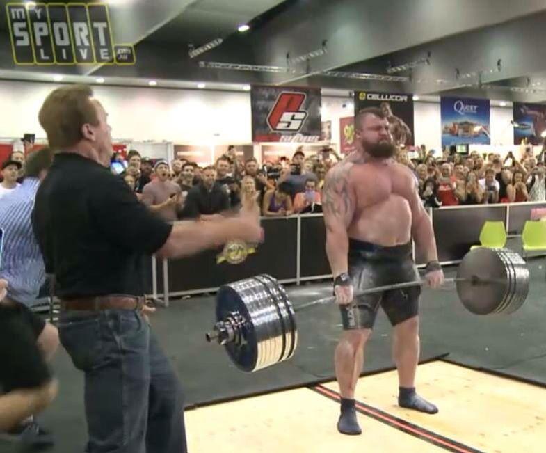 Eddie Halls Deadlift World Record 462kg Super Human Strength