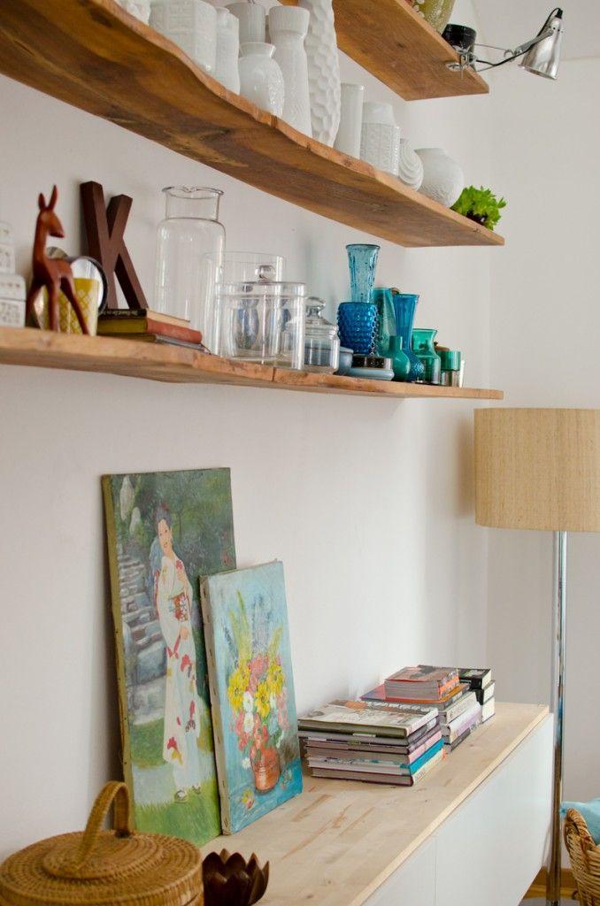 Wohnzimmer Update Der Salon Holz Wohnzimmer Wandregal Holz Und