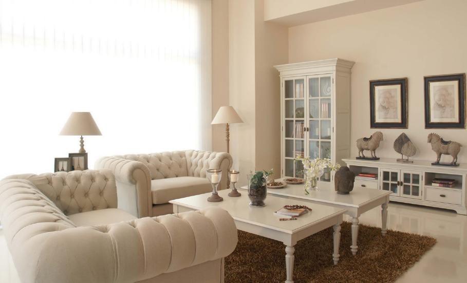 No tv that is great consejos para decorar con muebles - Muebles blancos vintage ...