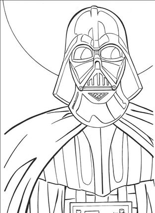 Darth Vader Coloring Page For Contest