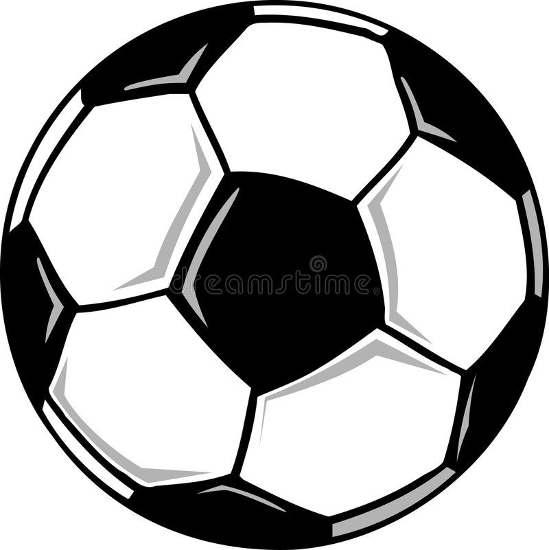 Soccer Ball A Cartoon Black And White Soccer Ball Sponsored Affiliate Affiliate Ball Soccer White Soccer In 2020 Soccer Ball Soccer Ball