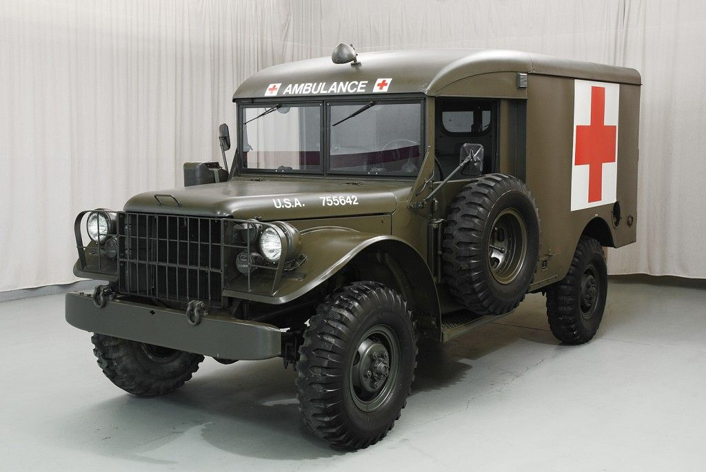 1955 Dodge M43 Ambulance | American cars for sale
