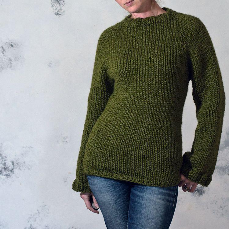PRUDENCE - Sweater Knitting Pattern | beatiful | Pinterest