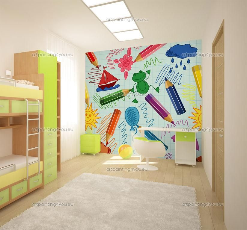 Wall Murals For Kids School Kids Wall Murals School Wall Art