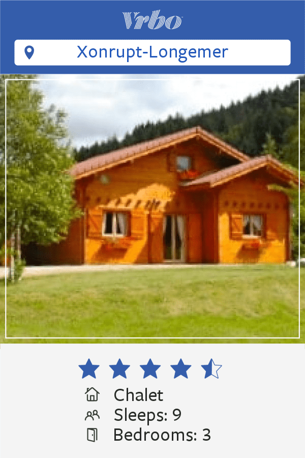 Vacation Chalet in Xonrupt-Longemer