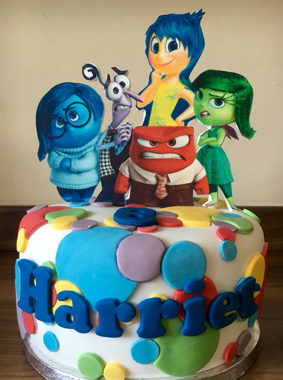 Inside Out Cake Disney Cake Made Simply So It Could Be Frozen The