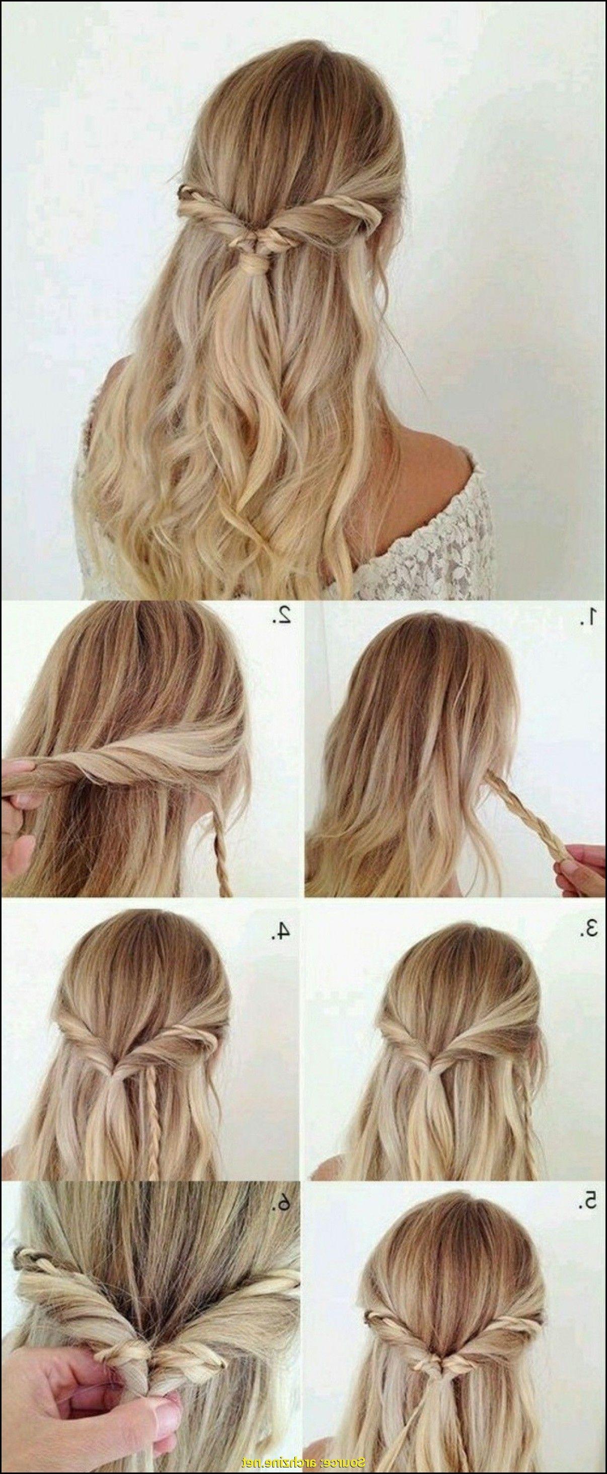 Flechtfrisur für Lange Haare - Meine Frisuren  Leichte frisuren