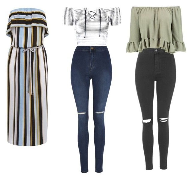 """""""1,2 or 3💁"""" by kamilayussuf ❤ liked on Polyvore featuring Topshop, Oasis, Boohoo and George"""