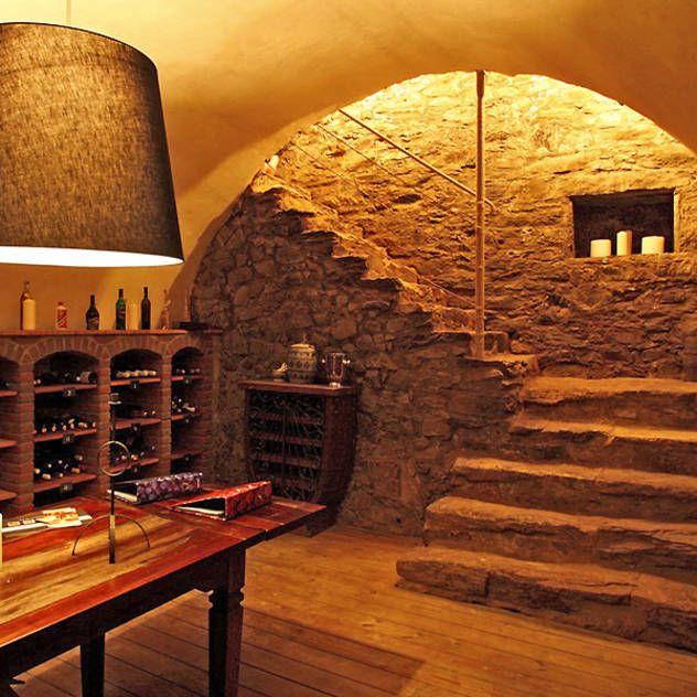 Bodegas de vino ideas im genes y decoraci n wine cellars basements and patios - Bodegas rusticas decoracion ...