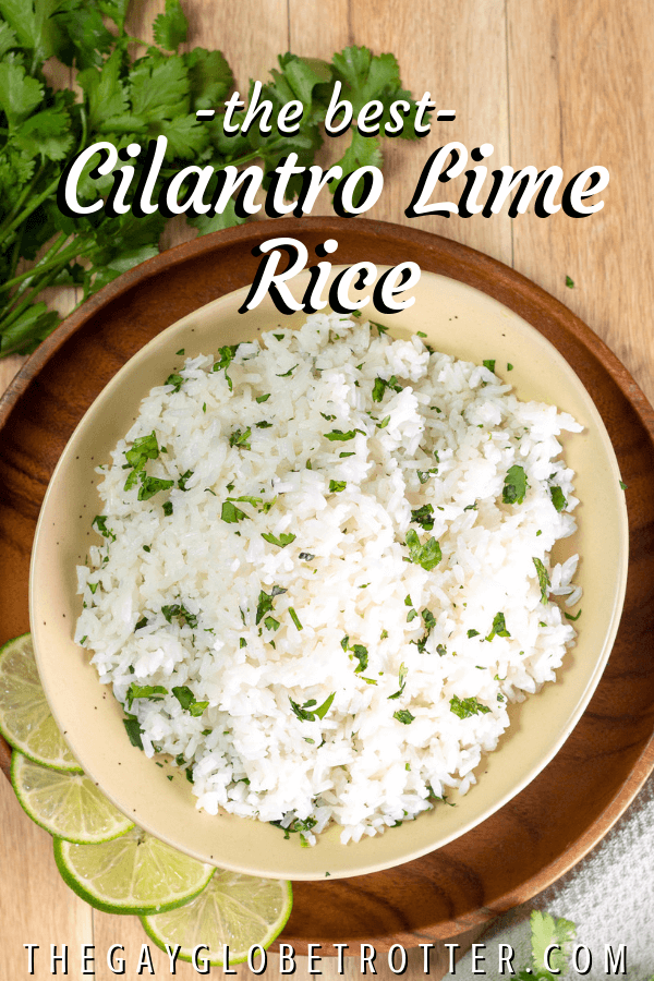 This cilantro lime rice recipe will make any dinner better. Using white or brown…