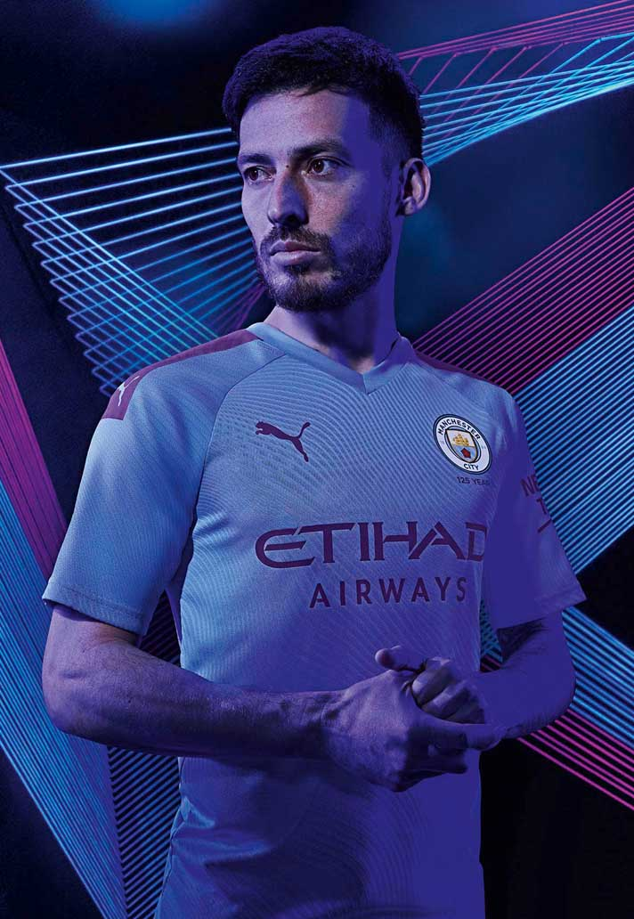 Puma Launch Man City 2019 20 Home Away Kits With Images Manchester City Home And Away Football