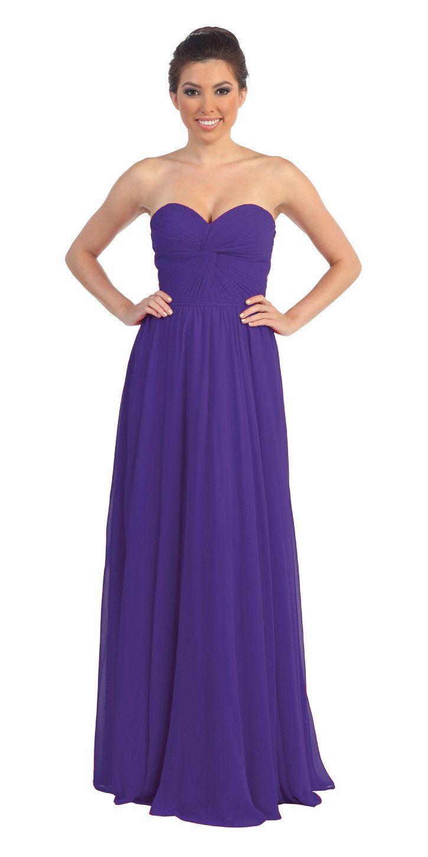 Popular chiffon strapless tiffany blue beach wedding bridesmaid