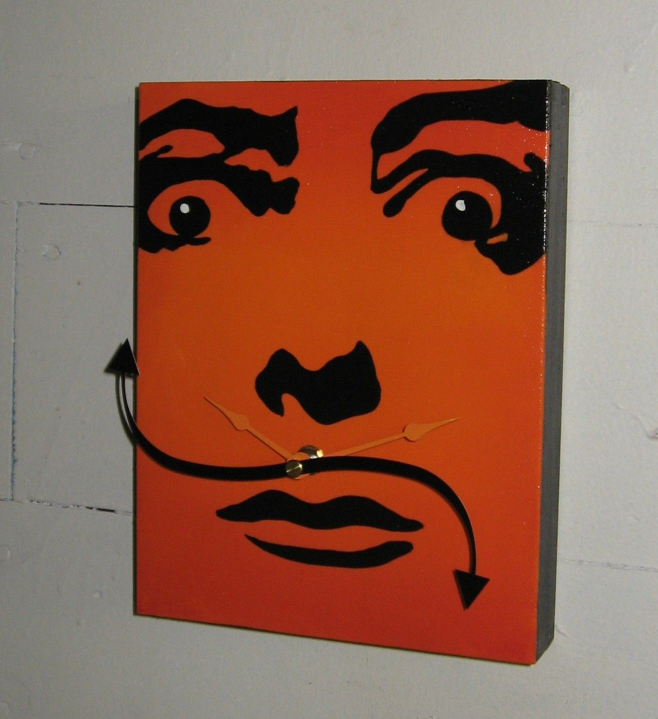 Salvador Dali Clock With Rotating Mustache With Images