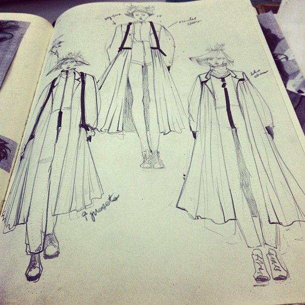 Connie Lim Fashionary Fashion Illustration Fashion Sketchbook Fashion Illustration Sketches