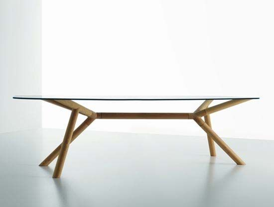 OTTO Glass Top Table By Paolo Cappello 2