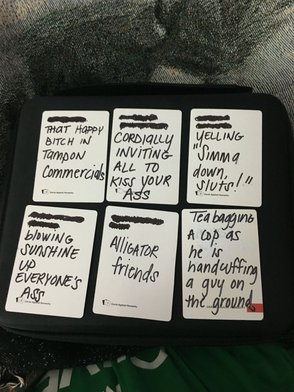 Fucking best and hilarious ideas for your blank cards of humanity