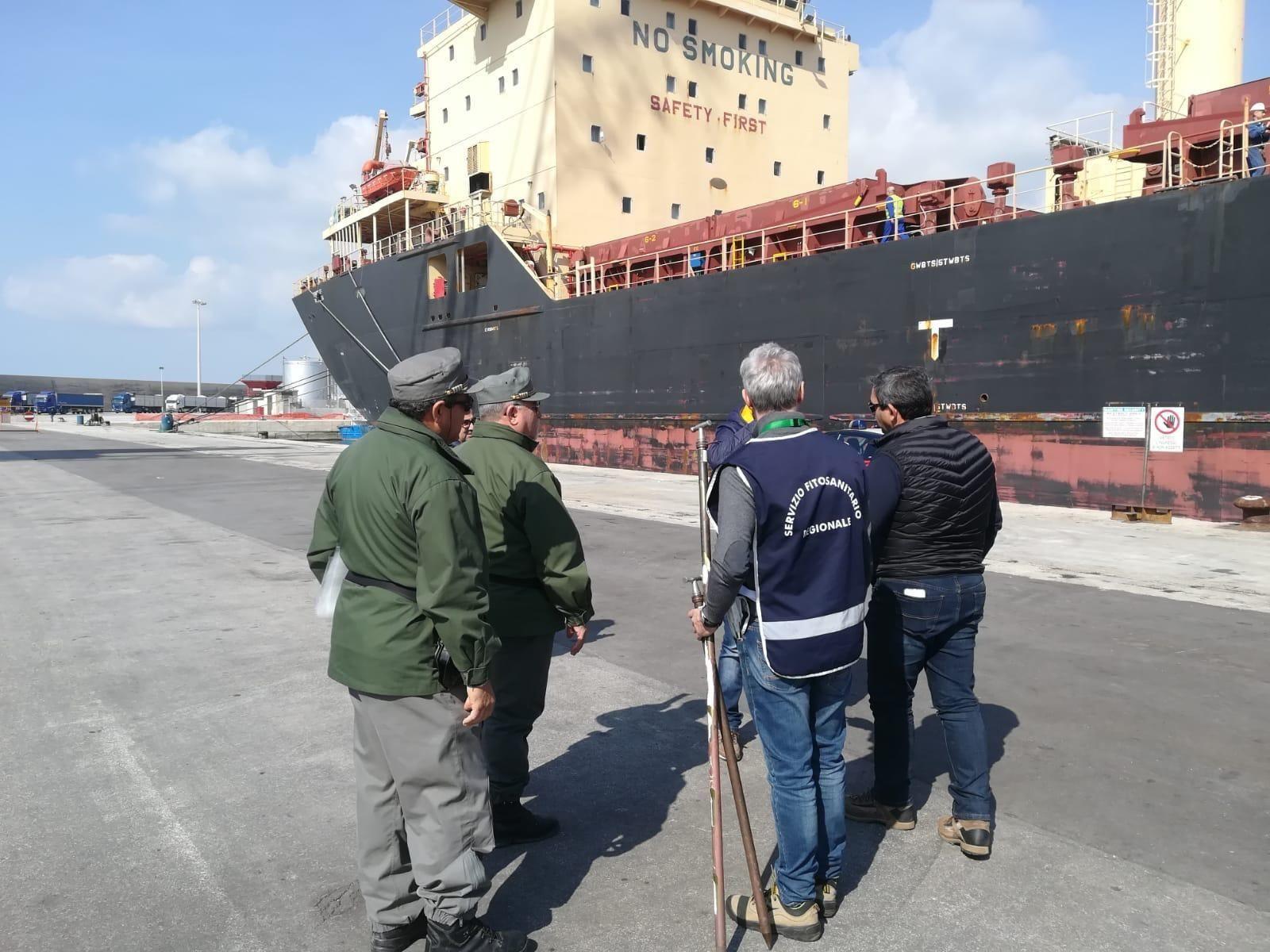 Regione Siciliana controlli sul grano al porto di