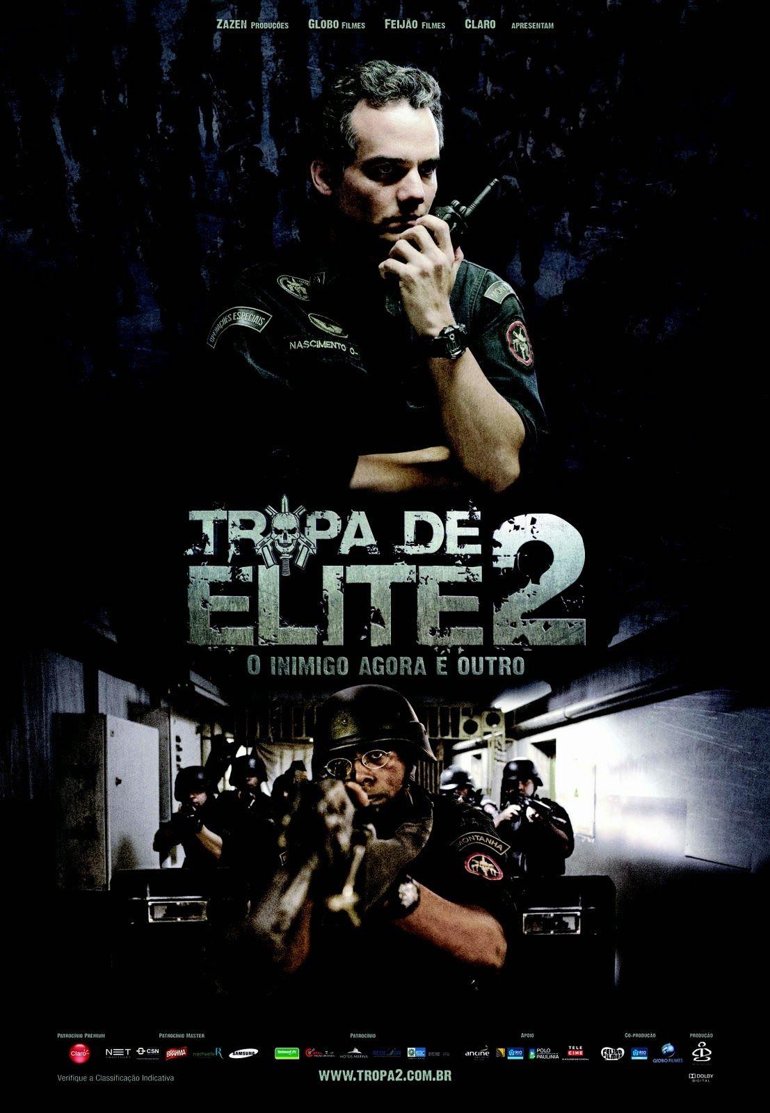 精銳暴隊2: 內鬼 Elite Squad: The Enemy Within (116min / 2010