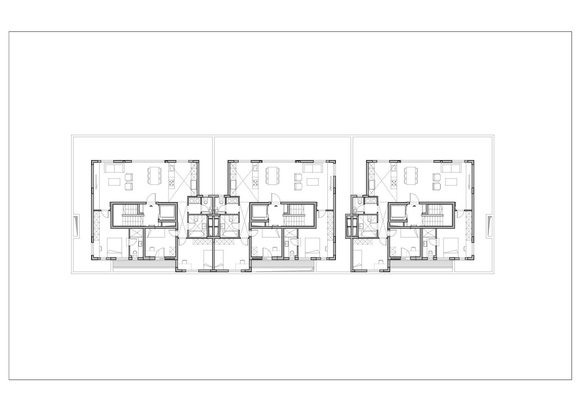 Gallery Of Ganei Shapira Affordable Housing Orit Muhlbauer Eyal Architects 9 Affordable Housing Architect Floor Plans